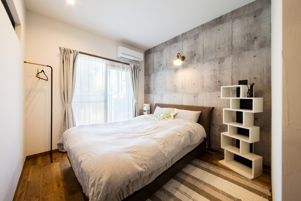 海が好きなご夫婦と創り上げたSurf style (寝室)
