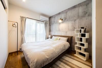 寝室 (海が好きなご夫婦と創り上げたSurf style)