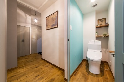 トイレ (海が好きなご夫婦と創り上げたSurf style)