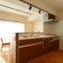 北欧家具を買いたくなる家の写真 キッチン
