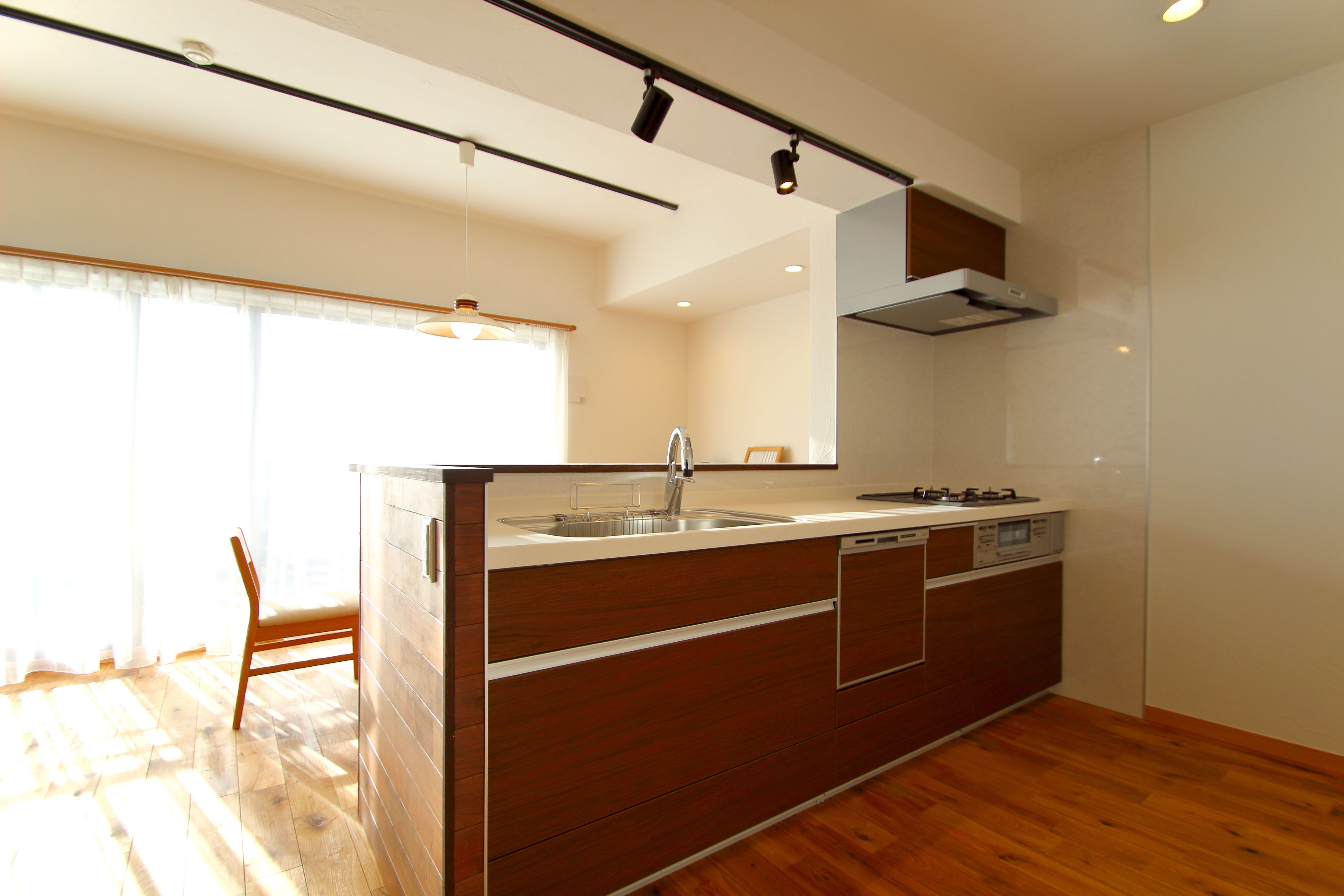 キッチン事例:キッチン(北欧家具を買いたくなる家)