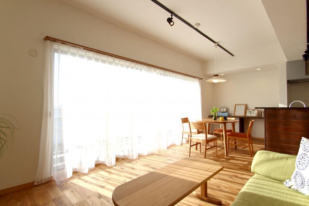 北欧家具を買いたくなる家 (LDK)