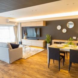 家で過ごす時間をもっと特別なものに ホテルライクな暮らし (LDK)