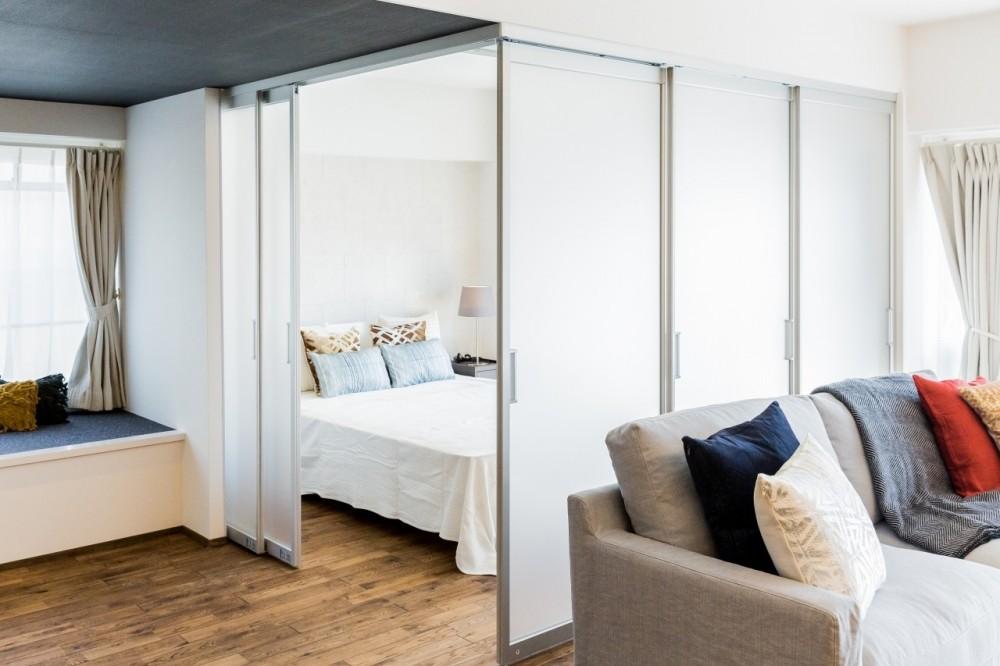 家で過ごす時間をもっと特別なものに ホテルライクな暮らし (LDKから寝室)