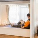 家で過ごす時間をもっと特別なものに ホテルライクな暮らしの写真 ベンチスペース