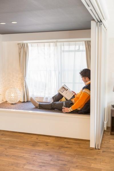 家で過ごす時間をもっと特別なものに ホテルライクな暮らし (ベンチスペース)
