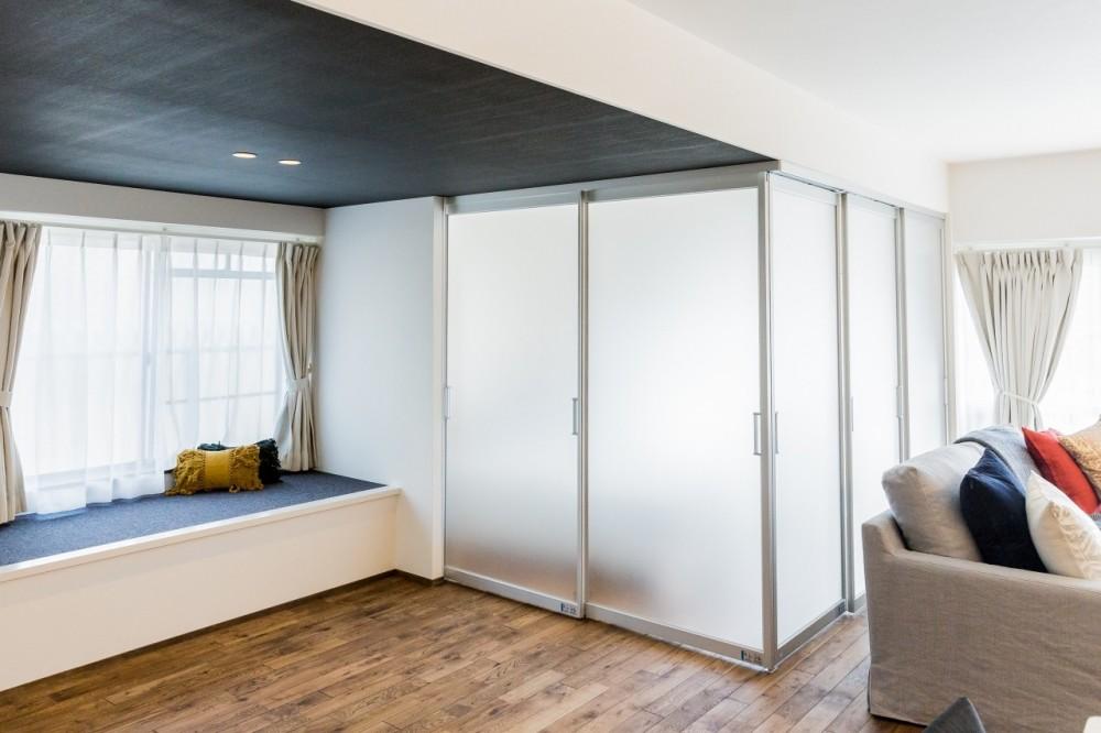 家で過ごす時間をもっと特別なものに ホテルライクな暮らし (寝室の扉)