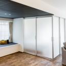 家で過ごす時間をもっと特別なものに ホテルライクな暮らしの写真 寝室の扉