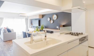 家で過ごす時間をもっと特別なものに ホテルライクな暮らし (キッチン)