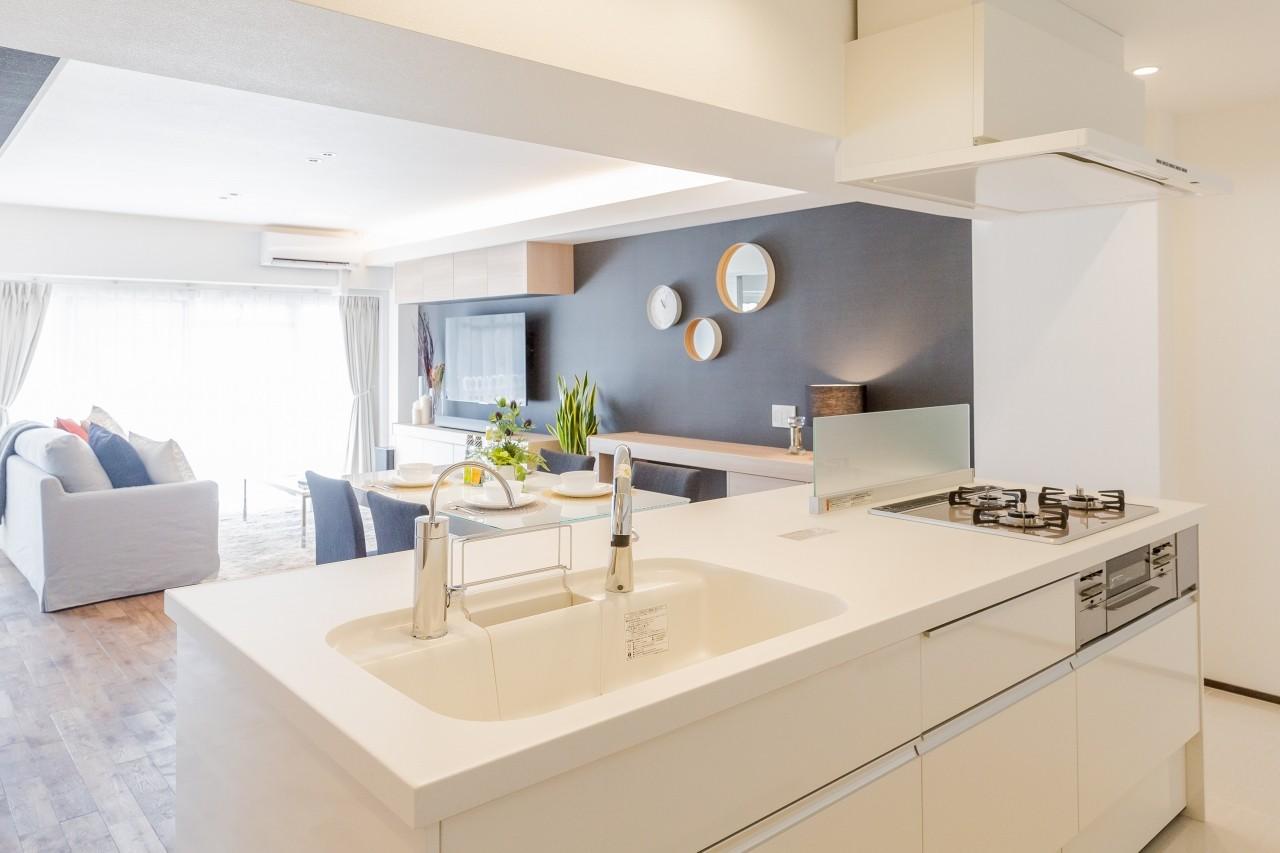 キッチン事例:キッチン(家で過ごす時間をもっと特別なものに ホテルライクな暮らし)
