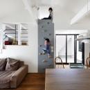 一級建築士事務所アトリエmの住宅事例「阿倍野の長屋  – 「5段の距離がいい」<リノベーション> –」