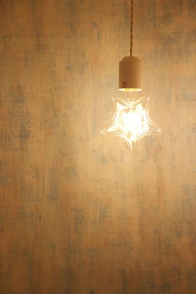 星形ライトはデザイナーからの贈り物です (窓を開けたら、まるで海!?カリフォルニアのリゾートライフ)