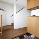 阿倍野の長屋  – 「5段の距離がいい」<リノベーション> –の写真 玄関