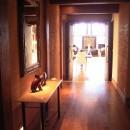 水上高原のヴィラ (ndesignと協同設計)の写真 ホール