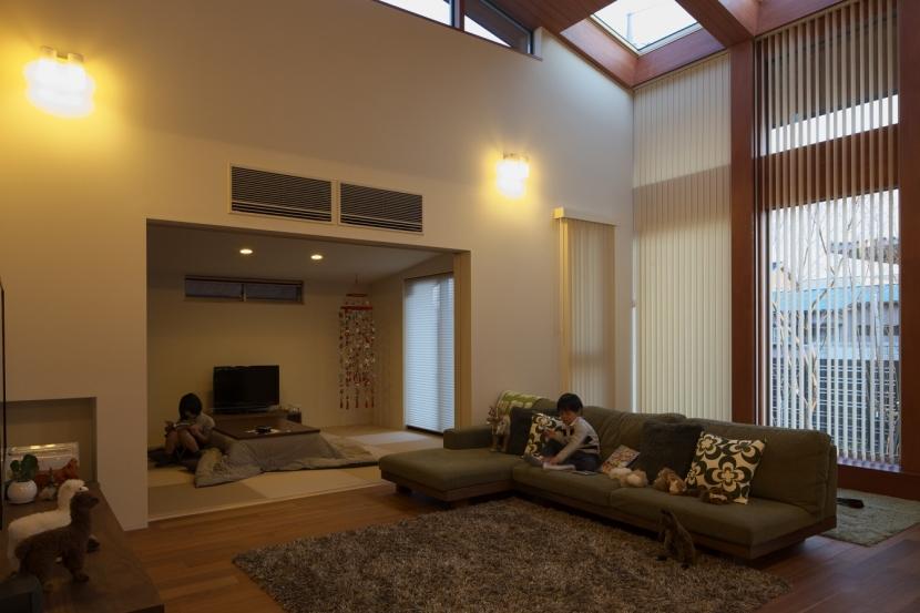 建築家:朝倉 元 / 朝倉 美穂「古河の家」