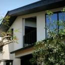 杉並の住宅 大きな切妻屋根の家の写真 建物外観