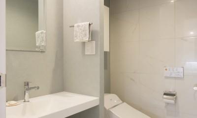 憧れの「大人時間」が始まる 60代の大胆リノベーション (トイレ)