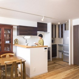 「理想の家に住みたい」という夢を叶えた、前向きリノベーション
