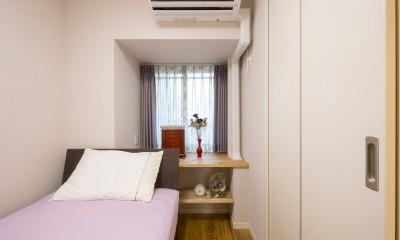 「理想の家に住みたい」という夢を叶えた、前向きリノベーション (寝室)