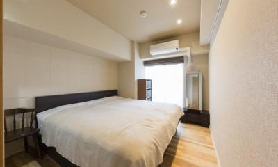 大家族が集まれるダイニングと機能的な収納で生き返るリノベーション (寝室)