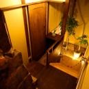 GUEST HOUSE とろとろ 空堀商店街の写真 地下への階段を降りた寝室手前の踊り場。