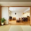 お気に入りの家具との暮らし。活かすのは職人技の造作の写真 ダイニング