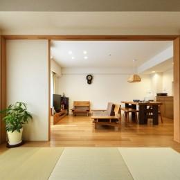 お気に入りの家具との暮らし。活かすのは職人技の造作