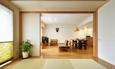 お気に入りの家具との暮らし。活かすのは職人技の造作 (ダイニング)