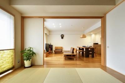 ダイニング (お気に入りの家具との暮らし。活かすのは職人技の造作)