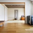 お気に入りの家具との暮らし。活かすのは職人技の造作の写真 和室