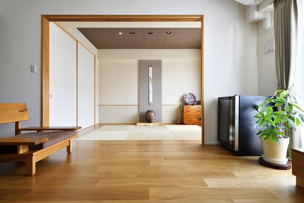 その他事例:和室(お気に入りの家具との暮らし。活かすのは職人技の造作)