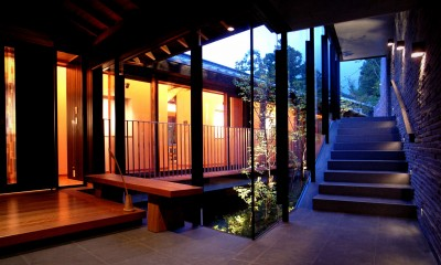 雷山の別荘 絶景を楽しめる和モダンの別荘