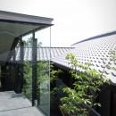 雷山の別荘 絶景を楽しめる和モダンの別荘の写真 建物外観
