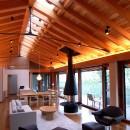 TAPO 富岡建築計画事務所の住宅事例「雷山の別荘 絶景を楽しめる和モダンの別荘」