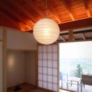雷山の別荘 絶景を楽しめる和モダンの別荘の写真 和室