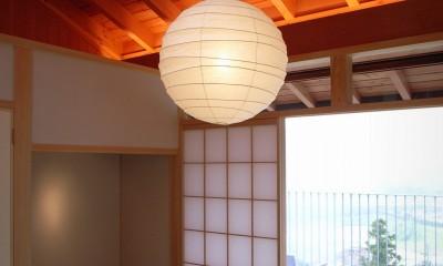 和室|雷山の別荘 絶景を楽しめる和モダンの別荘