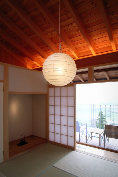 和室 (雷山の別荘 絶景を楽しめる和モダンの別荘)