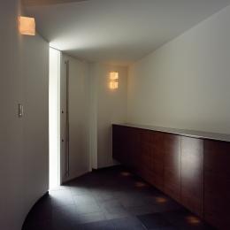 日吉台の家 (エントランス)