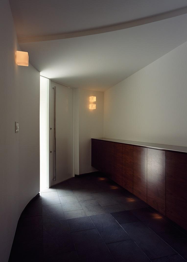 日吉台の家の写真 エントランス