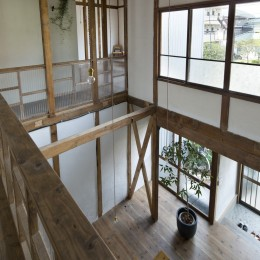 Renovation in Nekogahora (吹き抜け)