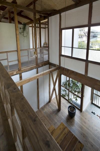 吹き抜け (Renovation in Nekogahora)