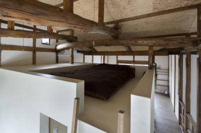 寝室 (Renovation in Nekogahora)