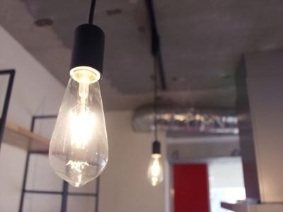 照明 (存在感のあるキッチン)