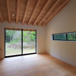 佐倉の週末住宅 子育て世代の自然の中の週末住宅 (メインベッドルーム)