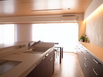 キッチン (芦屋マンションリフォーム)