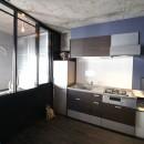 上品ブルックリン風、プライベートルームの写真 キッチン