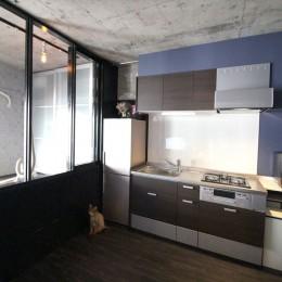 上品ブルックリン風、プライベートルーム (キッチン)