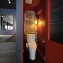 上品ブルックリン風、プライベートルームの写真 トイレ