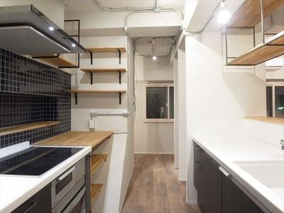 Ⅱ型キッチン (メゾネットソーホー)