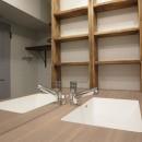メゾネットソーホーの写真 造作洗面化粧台